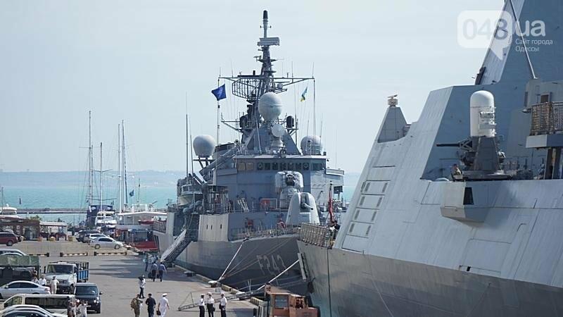 Новые боевые корабли НАТО зашли в Одессу (ФОТО), фото-8