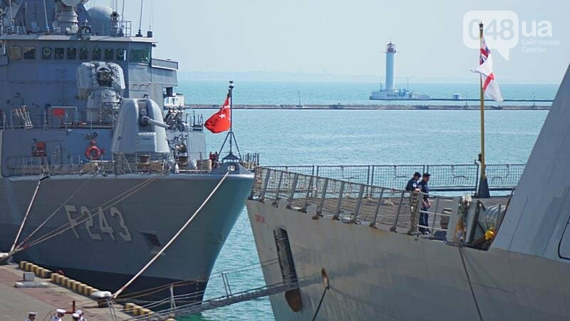 Новые боевые корабли НАТО зашли в Одессу (ФОТО), фото-19