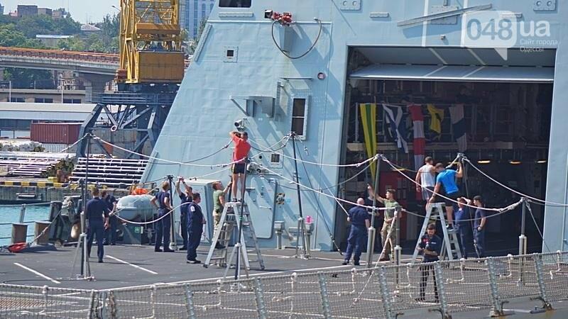 Новые боевые корабли НАТО зашли в Одессу (ФОТО), фото-51