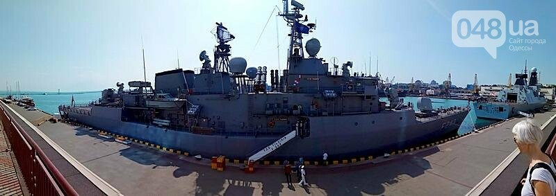 Новые боевые корабли НАТО зашли в Одессу (ФОТО), фото-18