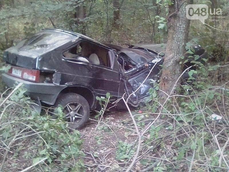На севере Одесской области автомобиль расплющило о дерево (ФОТО), фото-2