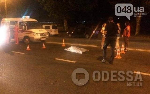 В Одессе Range Rover насмерть сбил женщину и уехал, фото-1