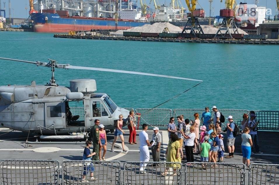 Тысячи одесситов попали на военные корабли НАТО (ФОТО), фото-4
