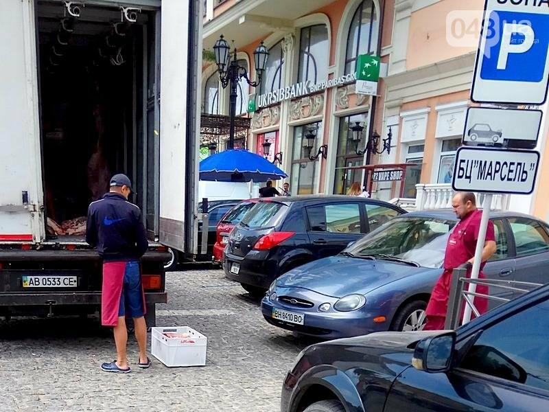 Как мясо попадает в магазин в центре Одессы (ФОТО), фото-2