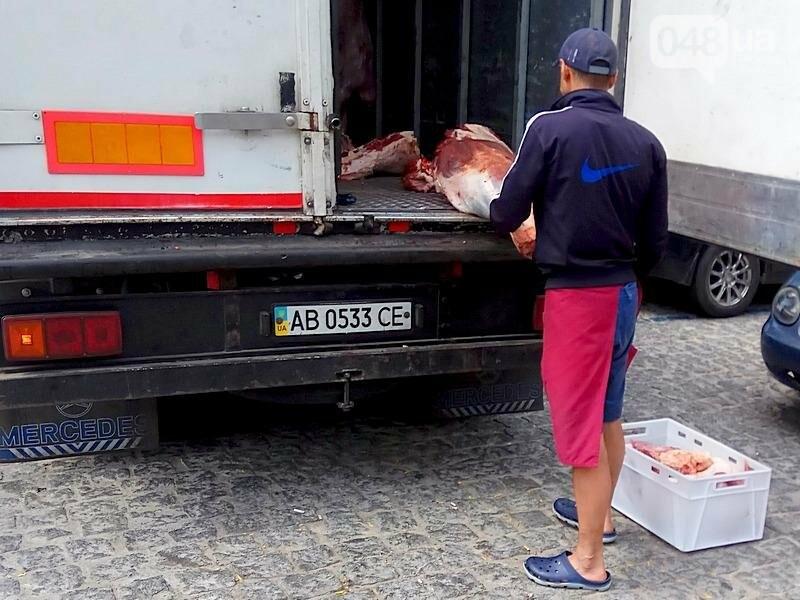 Как мясо попадает в магазин в центре Одессы (ФОТО), фото-3