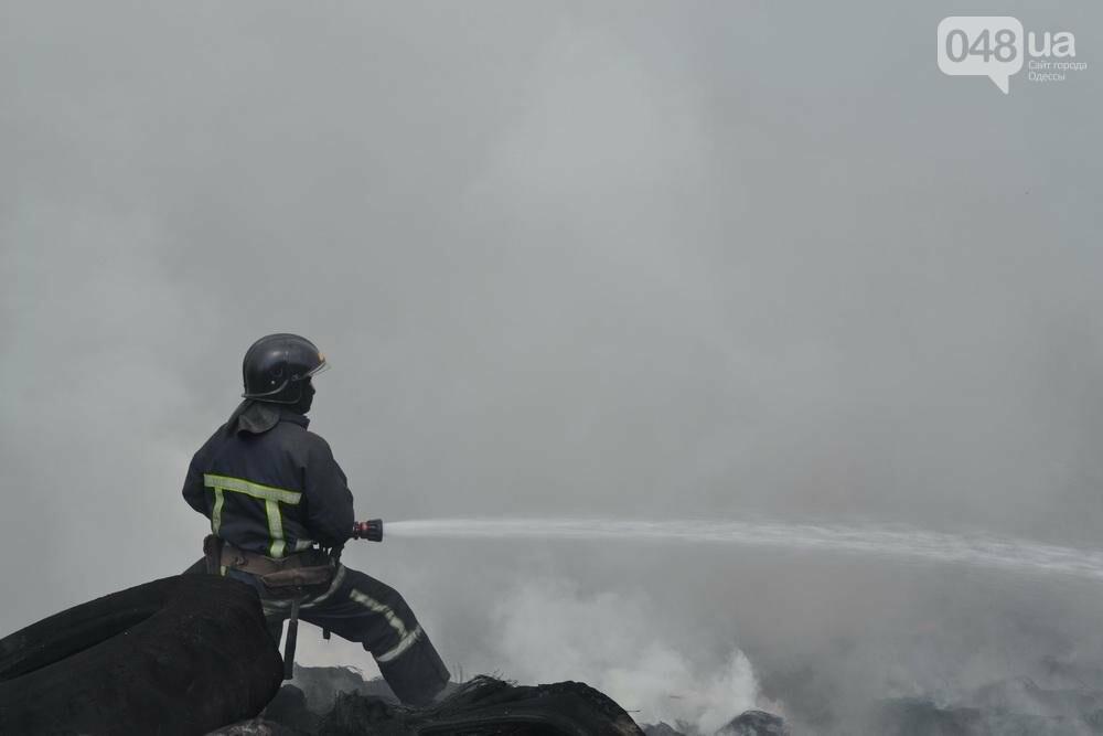 """На """"Краяне"""" произошел пожар: столб черного дыма напугал одесситов (ФОТО), фото-4"""