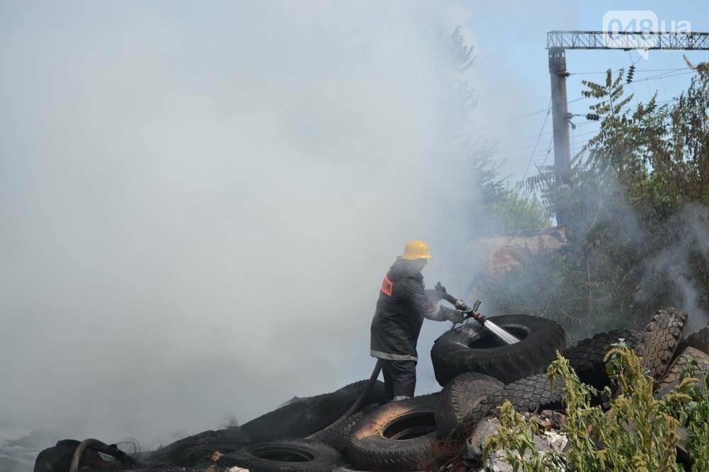 """На """"Краяне"""" произошел пожар: столб черного дыма напугал одесситов (ФОТО), фото-3"""