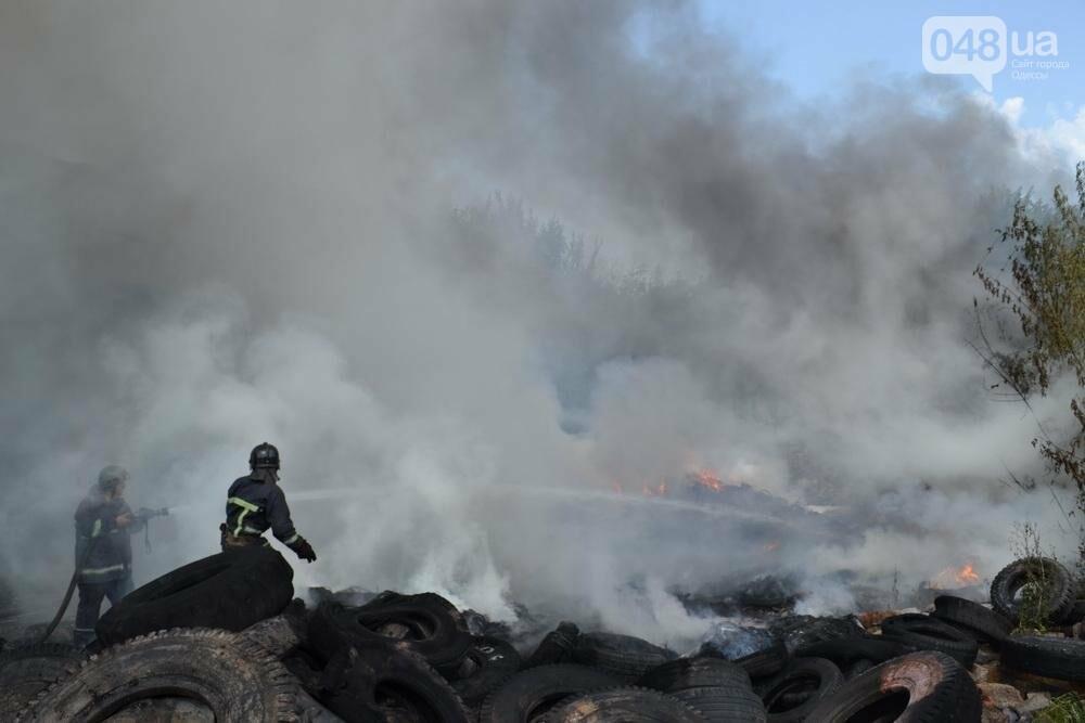 """На """"Краяне"""" произошел пожар: столб черного дыма напугал одесситов (ФОТО), фото-6"""
