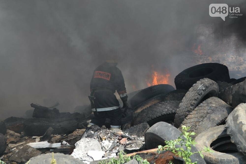 """На """"Краяне"""" произошел пожар: столб черного дыма напугал одесситов (ФОТО), фото-5"""