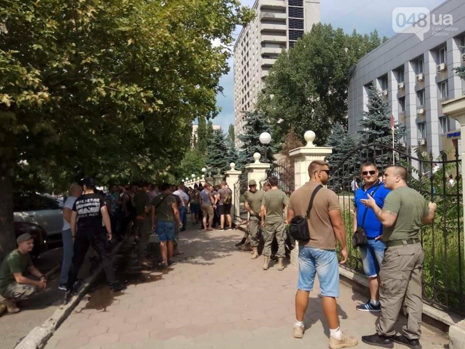 Возле одесского суда активисты пугают друг друга (ФОТО, ВИДЕО), фото-3