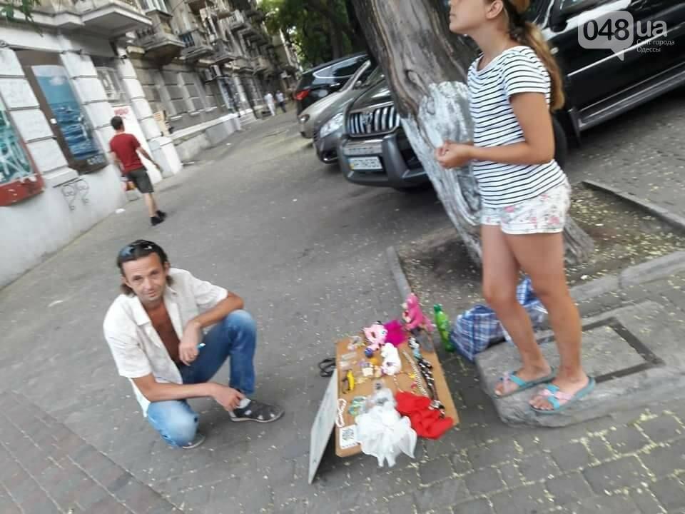 В центре Одессы мужчина приставал к девочке: его прогнала неравнодушная женщина (ФОТО), фото-1