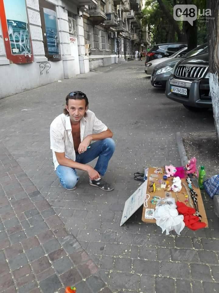 В центре Одессы мужчина приставал к девочке: его прогнала неравнодушная женщина (ФОТО), фото-2