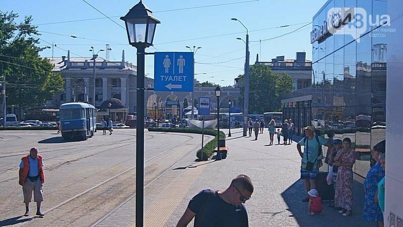 Автостанцию в центре Одессы открыли понарошку (ФОТО), фото-18