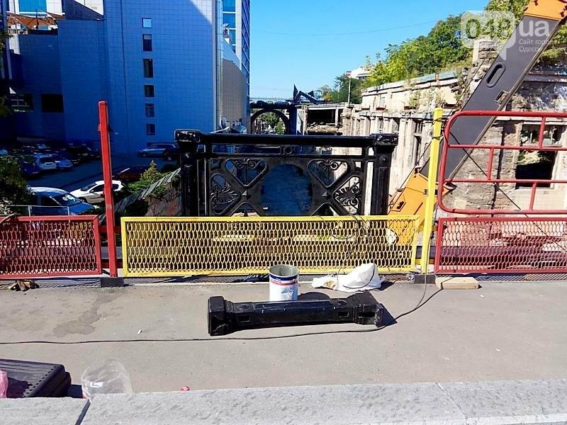 На многострадальный одесский мост вернут чугунные якоря (ФОТО), фото-4