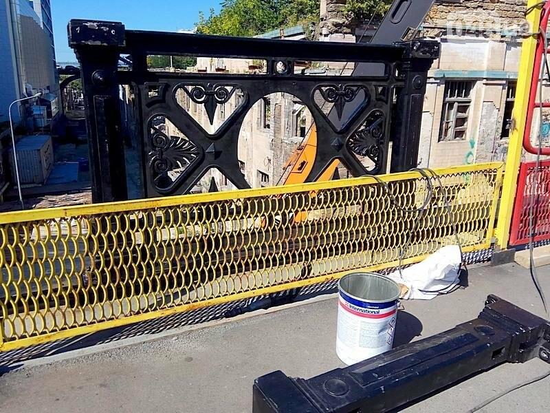 На многострадальный одесский мост вернут чугунные якоря (ФОТО), фото-5