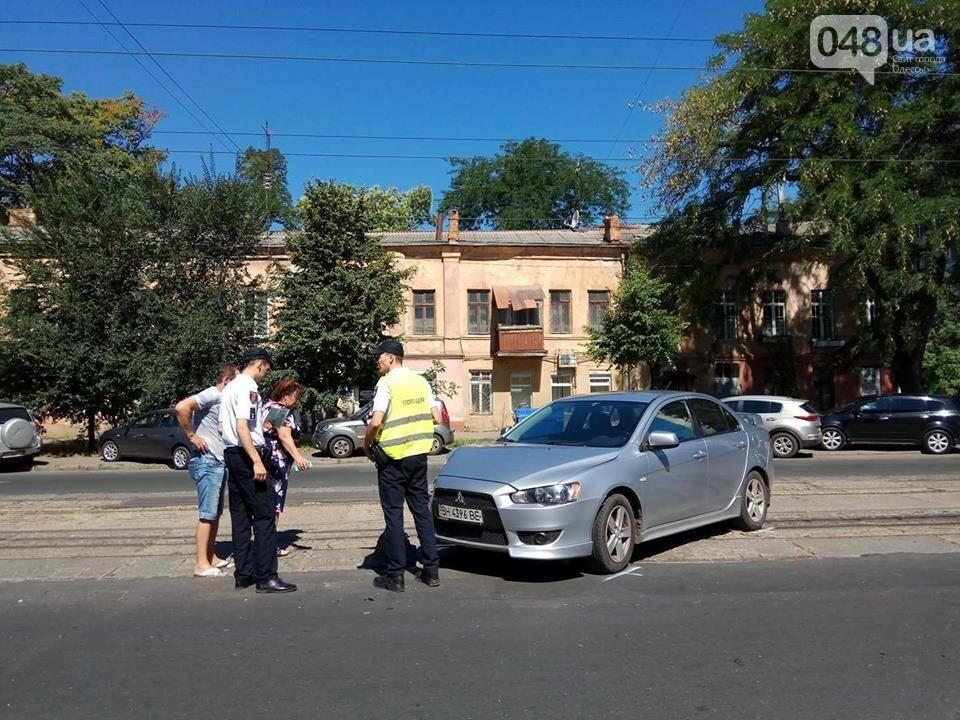 В Одессе на Молдаванке две иномарки не поделили трамвайные пути (ФОТО), фото-1