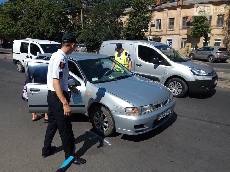 В Одессе на Молдаванке две иномарки не поделили трамвайные пути (ФОТО), фото-2