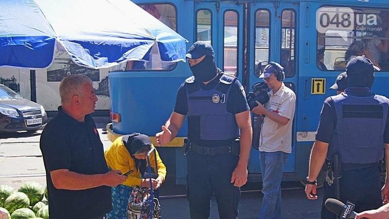 Как на «Привозе» иностранцы от одесской полиции убегали (ФОТО, ВИДЕО), фото-2