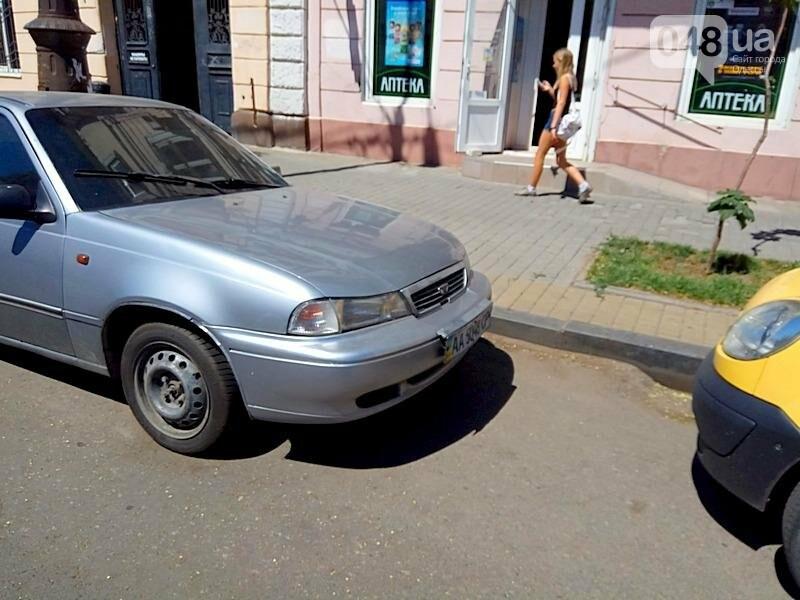 В центре Одессы гостя из столицы оставили без колес (ФОТО), фото-2