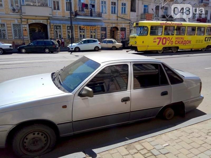 В центре Одессы гостя из столицы оставили без колес (ФОТО), фото-1
