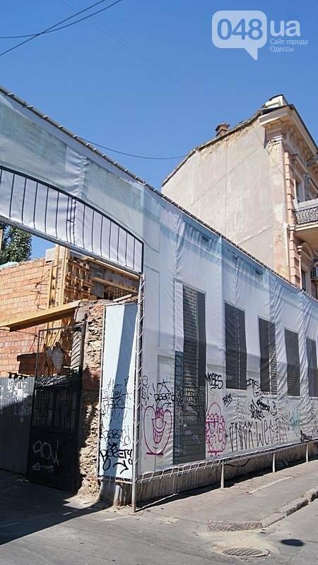 В Одессе продолжилась застройка дома с одной стеной: полиции отказано в доступе (ФОТО), фото-2