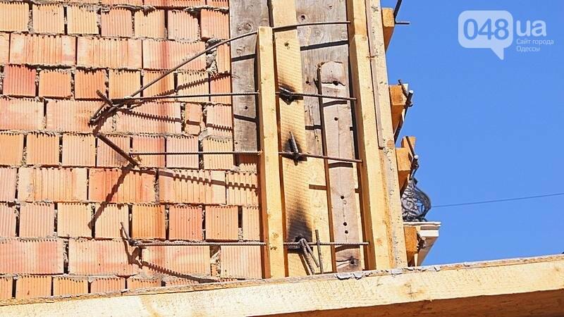 В Одессе продолжилась застройка дома с одной стеной: полиции отказано в доступе (ФОТО), фото-10