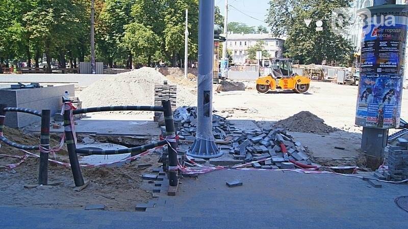 На Дерибасовкой уничтожен мемориал первым жертвам 2 мая (ФОТО), фото-2