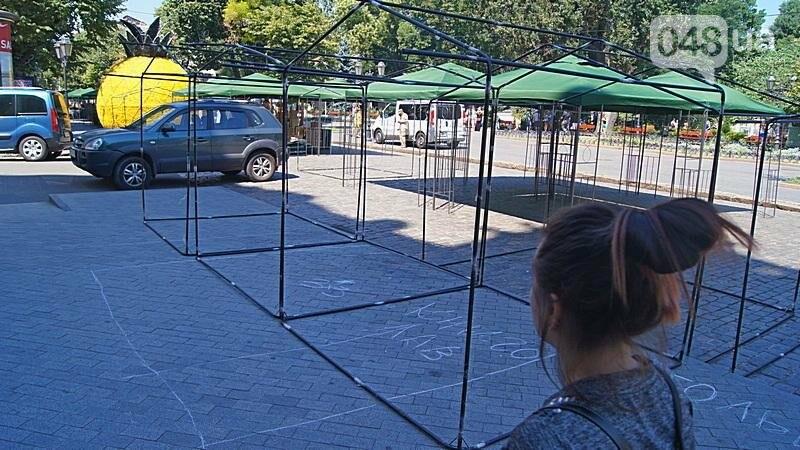 На Дерибасовской растет ярмарка: стало меньше места для прогулок (ФОТО), фото-5