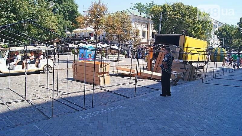 На Дерибасовской растет ярмарка: стало меньше места для прогулок (ФОТО), фото-6
