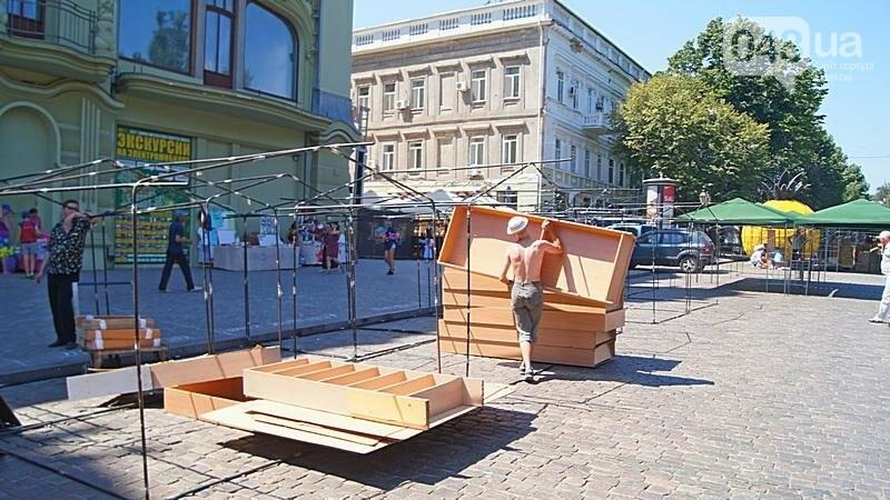 На Дерибасовской растет ярмарка: стало меньше места для прогулок (ФОТО), фото-7