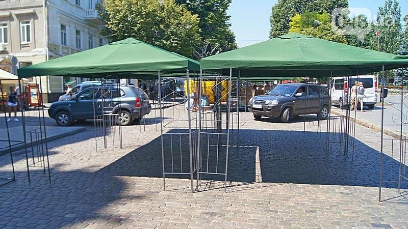 На Дерибасовской растет ярмарка: стало меньше места для прогулок (ФОТО), фото-8
