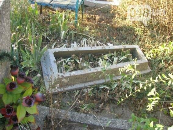В Одесской области надругались над могилами (ФОТО), фото-2