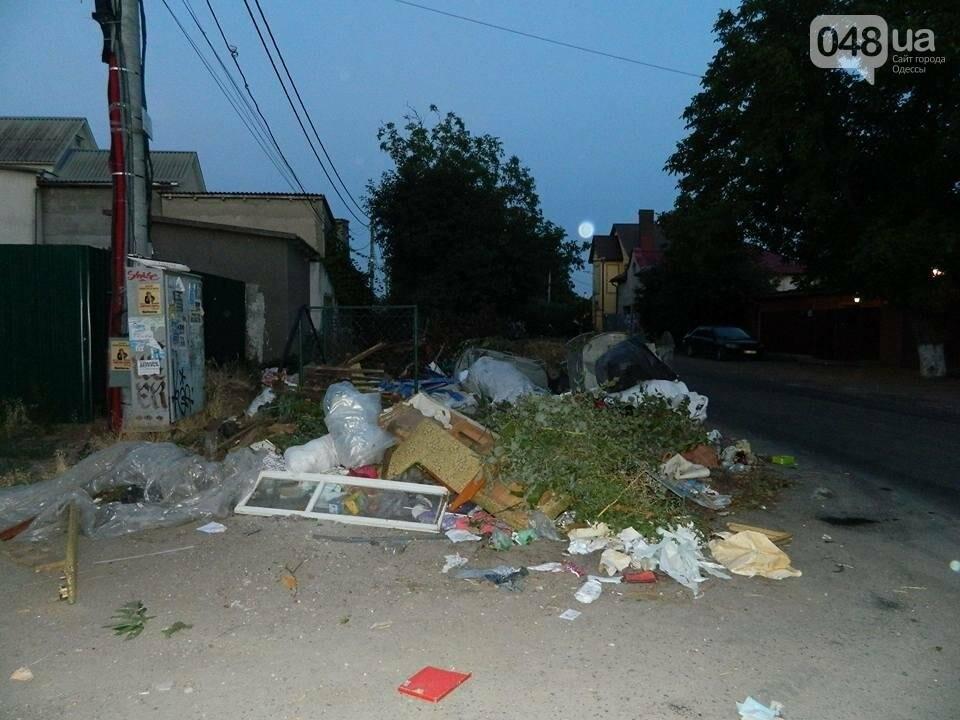 На одесской Чубаевке устроили антисанитарию и мусорную свалку (ФОТО), фото-1