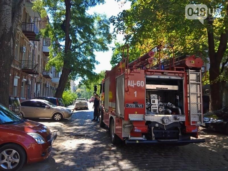 Одесситка устроила переполох в центре города, покинув квартиру (ФОТО), фото-1