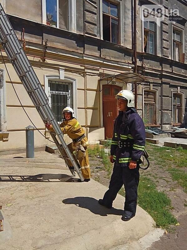 Одесситка устроила переполох в центре города, покинув квартиру (ФОТО), фото-3