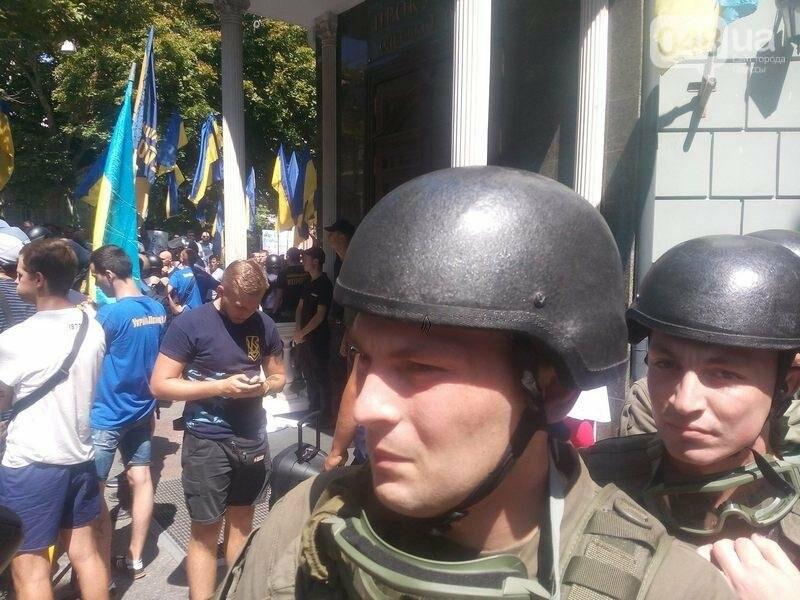 Под одесской прокуратурой столкнулись два митинга: их сдерживает полиция (ФОТО), фото-2