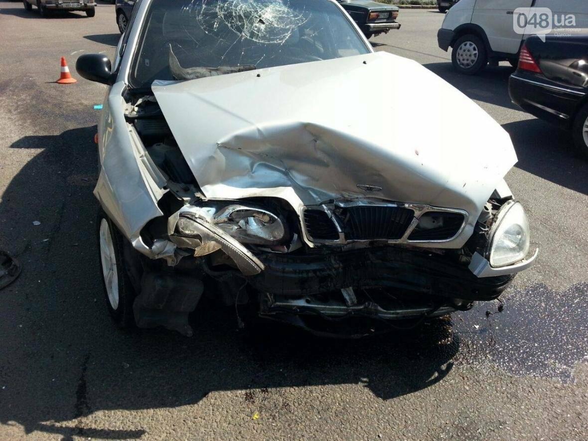 На оживленном перекрестке Одессы произошла авария: есть жертва (ФОТО), фото-1
