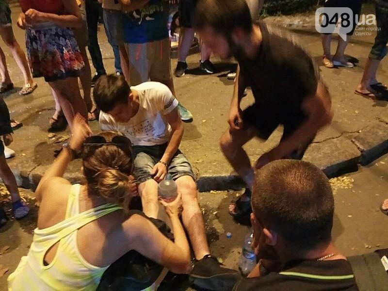 В центре Одессы произошла авария: пострадал мотоциклист (ФОТО, ВИДЕО), фото-2