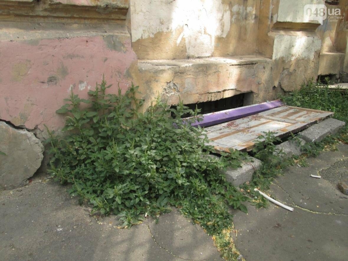 В Одессе памятник архитектуры облюбовали бомжи, алкоголики и дети (ФОТО), фото-4