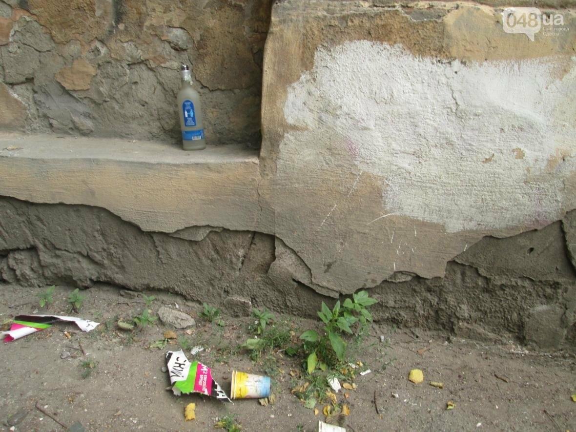 В Одессе памятник архитектуры облюбовали бомжи, алкоголики и дети (ФОТО), фото-9