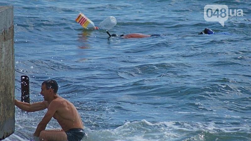 «Нерезиновые» одесские пляжи пока еще вмещают спасающихся от жары (ФОТО), фото-8