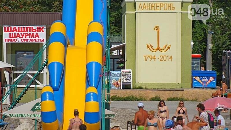 «Нерезиновые» одесские пляжи пока еще вмещают спасающихся от жары (ФОТО), фото-16