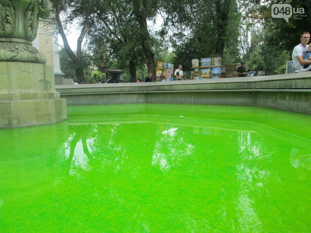 Одесский фонтан наполнился чудовищной «кислотой» (ФОТО), фото-2