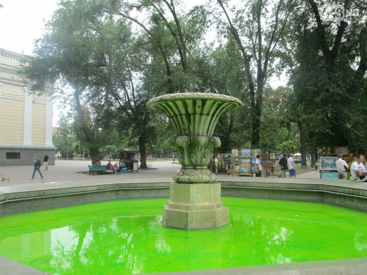 Одесский фонтан наполнился чудовищной «кислотой» (ФОТО), фото-3