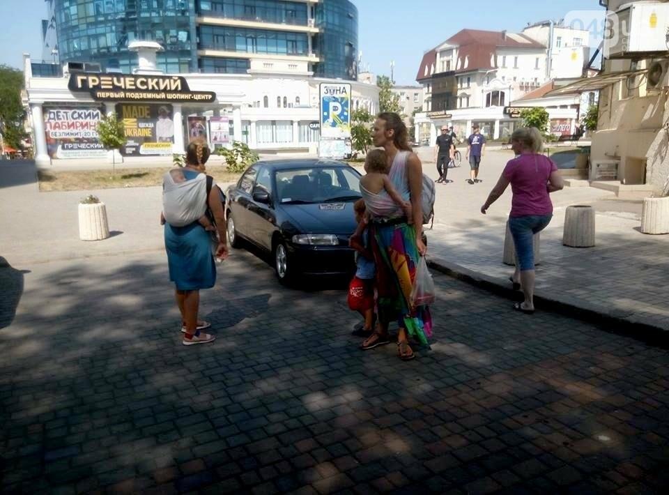 Горы мусора и скучающие туристы: В центре Одессы плохо пахнет (ФОТО), фото-1