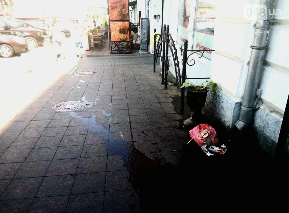 Горы мусора и скучающие туристы: В центре Одессы плохо пахнет (ФОТО), фото-5