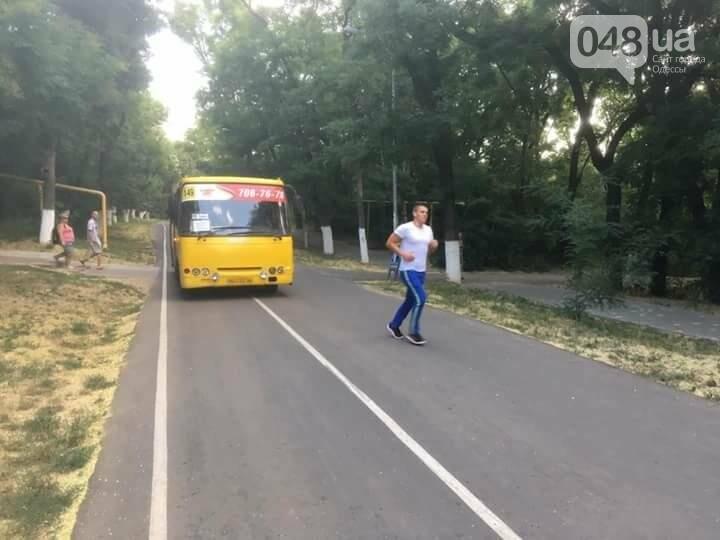 В Одессе по Трассе здоровья пустили маршрутку (ФОТО), фото-1