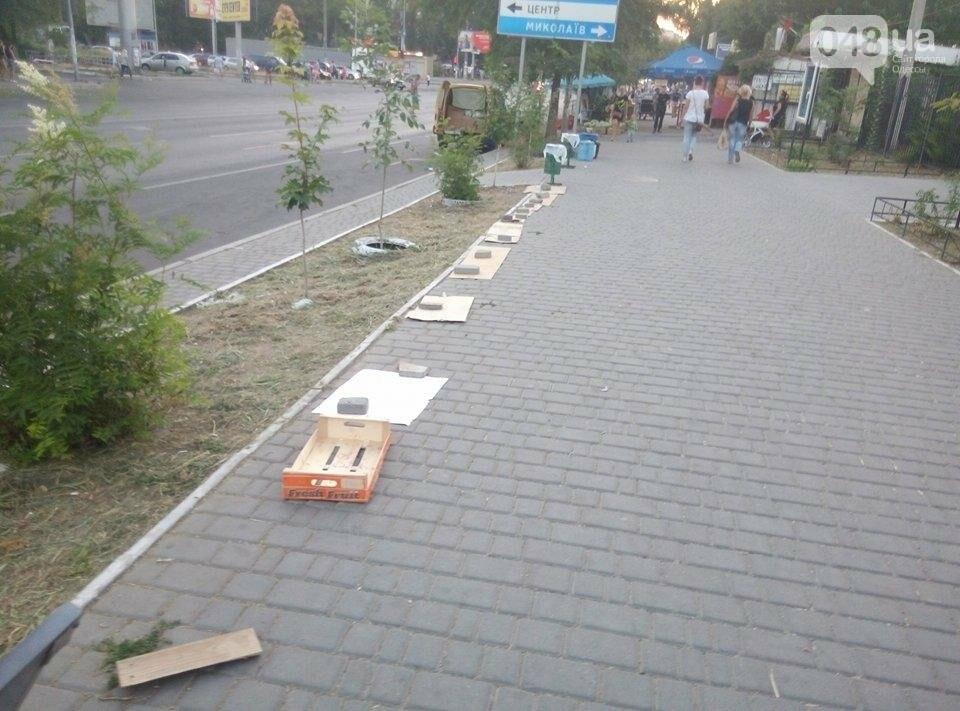 В Одессе улицу распределили между собой торговцы-нелегалы (ФОТО), фото-1