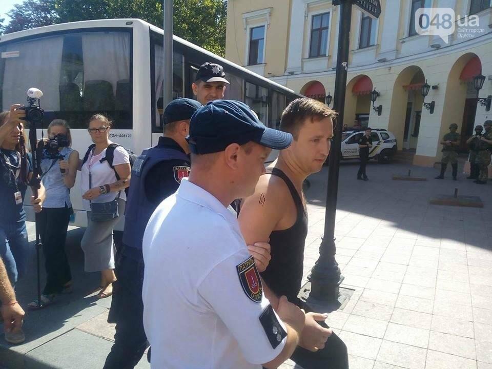 "Одесский ""Прайд"" зашел в тупик: участники парада объявили сидячий протест (ФОТО, ВИДЕО), фото-1"