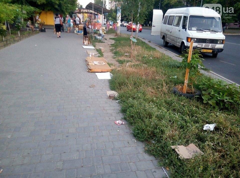 В Одессе улицу распределили между собой торговцы-нелегалы (ФОТО), фото-4
